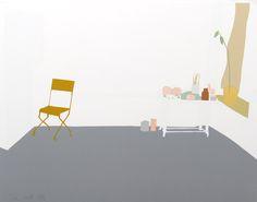 Gray Interior - Alex Katz