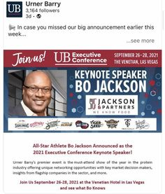 Bo Jackson will be the Keynote Speaker at the UB Executive Conference in Las Vegas; September 26th & 28th! #legendarycompanylegendaryplayer #jacksonandpartners #boknowsUB Burger Recipes, Pork Recipes, Seafood Recipes, Steak Rubs, Homemade Burgers, Bo Jackson, Keynote Speakers, Conference, Las Vegas