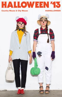 the city mouse and country mouse costumes for book character day find this pin and more on halloween by american apparel