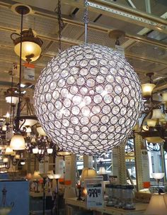 round chandelier that isn't completely insanely expensive $300-$400