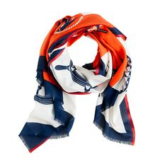 Love this anchor scarf in Coast Guard colors but can't find it anywhere!