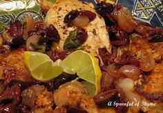 Spoonful of Thyme: Pan Roasted Chicken with Olives and Lemon and A ...
