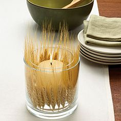 8 creative fall table settings | Harvest candle | Sunset.com