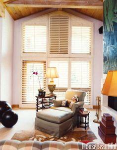 High-Ceiling Family Room