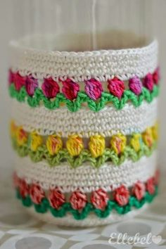 Woolly happiness for Monday morning comes to you in the form of crochet cupcakes, the only cake you can enjoy guilt free is a cake made of yarn, keep Diy Crafts Crochet, Crochet Home, Love Crochet, Crochet Motif, Crochet Designs, Crochet Flowers, Crochet Stitches, Crochet Baby, Crochet Projects