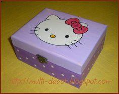 uñas pintadas de kitty navidad - Bing Imágenes
