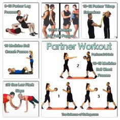 If you are looking for a workout to do with a friend or family member, here are some great moves you can do with your BFF to get you both in top shape, and have fun while your doing it!!