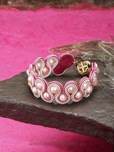 vintage Bracelets for Women Soutache Bracelet, Soutache Jewelry, Beaded Jewelry, Handmade Jewelry, Ribbon Jewelry, Bridal Jewelry, Jewelry Crafts, Wedding Rings Vintage, Antique Engagement Rings