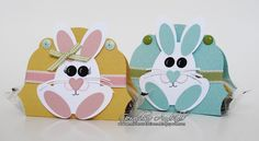 Easter bunny punch art - bjl