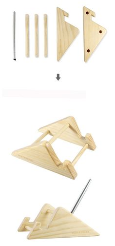 Anti-slip design holds your iPad fast in place.Slide in the iPad and secure with the wood piece. Made to protect. Natural, subtle wood scent. So unique.