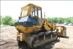 1985 Komatsu D75S-5 Crawler Loader Dozer Demo Machine JUST REDUCED- $19,000 Customer Motivated to Sell!  Location: Rockaway, NJ 07866 Year : 1985 Make : Komatsu Model : D75S-5 Serial # : 15282 Hours : 9548 U/C Fair : Equipped with Rockland Demo Pole Clam Shell Dozer Machine Runs Excellent Great do All Machine  DO YOU HAVE EQUIPMENT TO SELL? Reach millions of buyers & get top dollar by listing IT with us. Call Me & Lets get it SOLD! IRONMARTONLINE Jay Trevorrow, 973-886-3020 Heavy Equipment For Sale, Heavy Construction Equipment, Trucks For Sale, Military Vehicles, Tractors, Things To Sell, Army Vehicles