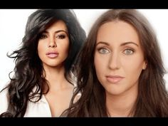 HOW TO LOOK LIKE KIM KARDASHIAN - INCLUDING CONCEALER AND CONTOURING TECHNIQUE!!!!  MUST TRY!!