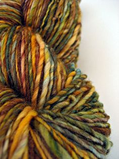 Captain Jack, Hand-dyed and Hand-Spun Merino Nylon Yarn, 220 yds by dye2spin