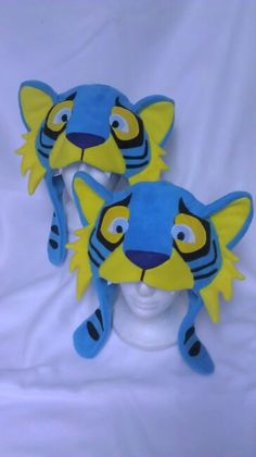 Tiger fleece hat idea