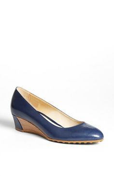 have these aready --Tod's Wedge Pump available at #Nordstrom