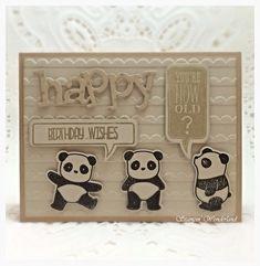 PANDA Simon Says Stamp Pandamonium
