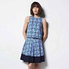 MILLY for DesigNation Tile Pleated Skirt - Women's
