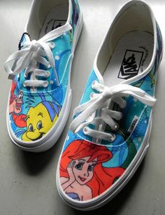 Custom Van Shoes (example) ($125.00)