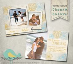 Save the Date Wedding Announcement Templates - Wedding Announcement 13