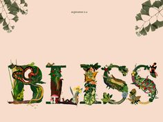Bliss by Ninai Freitas, via Behance