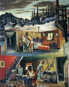 Harry Sternberg: Coal and Steel Steel, Painting, Art, Art Background, Painting Art, Kunst, Paintings, Performing Arts, Painted Canvas