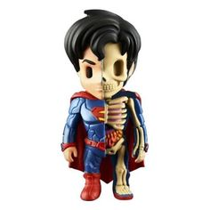 Superman XXRAY 4Inch Vinyl Figure ** Continue to the product at the image link.