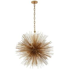Strada Medium Round Chandelier by Kelly Wearstler for Visual Comfort. Available in Polished Nickel, Burnished Silver Leaf, Gild or Aged Iron. Round Pendant Light, Round Chandelier, Chandelier Ceiling Lights, Entryway Chandelier, Crystal Chandeliers, Ceiling Fans, Gold Pendant, Foyer, Circa Lighting