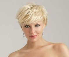 short hair styles for women over 50 gray hair Hairdos For Short Hair, Haircuts For Wavy Hair, Very Short Haircuts, Short Thin Hair, Cool Short Hairstyles, Short Hair Styles Easy, Long Layered Hair, Long Hair, Hair Styles For Women Over 50