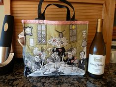 A ghastlies wine tote, you know I'm going to be making this!!!