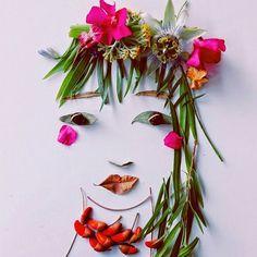 Leaf and flower Art