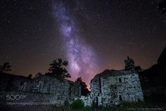 Old Church and Milky Way  Photo night session inside an old church under the dark sky of Gerês.  Camera: Fuji X-T1 Lens: 12 Focal Length: 12mm Shutter Speed: 15sec Aperture: f/2 ISO/Film: 3200  Image credit: http://ift.tt/29CYXo4 Visit http://ift.tt/1qPHad3 and read how to see the #MilkyWay  #Galaxy #Stars #Nightscape #Astrophotography
