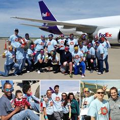 "Our Neal Harris location had a great time at the Pull-A-Plane event!!! Thank you to all of our awesome ""Super Heroes"" and the donations to Ronald McDonald House-KC!"