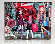 Fashiondoll World - Das Modepuppen Magazin: Monster High: Neue Informationen zu den Puppen für 2015 - Original Ghouls, Monster-Graustausch, Vinyl Figuren & Co.