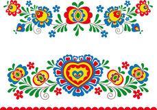 Illustration about Folk ornaments from slavonic area (Moravia). Illustration of souvenir, history, drawing - 58842971 Hungarian Embroidery, Folk Embroidery, Learn Embroidery, Embroidery Patterns, Folk Art Flowers, Flower Art, Bordado Popular, Polish Folk Art, Scandinavian Folk Art