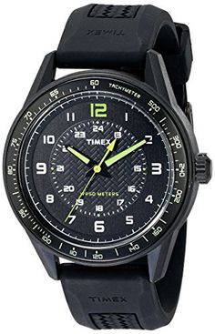 Timex Men's T2P024KW Ameritus Sport Watch with Black Band