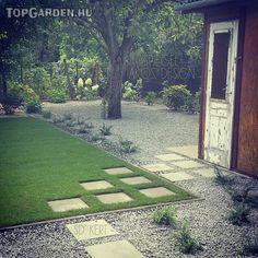 SD KERT - szép kertek képek ötletek, kert galéria, formakertek, formatervezés, anyagjavaslatok, kerti dísznövények fotók, geometrikus kertek, kerti stílusok, modern, mediterrán, romantikus, Spiegel Ákos, kertépítés, kerttervezés, landscape Land Scape, Stepping Stones, Sidewalk, Outdoor Decor, Modern, Instagram, Gardening, Design, Home Decor