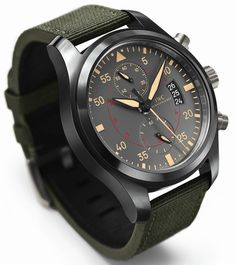 IWC Pilot Chronograph Top Gun Miramar Watch   iwc