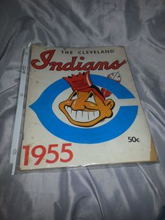 Vintage 1955 Cleveland Indians Yearbook by UnexpectingItems