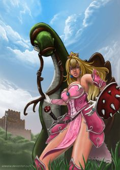 Peach Warrior Princess