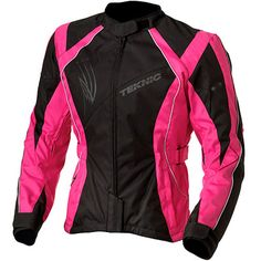 Pink Motorcycle Jacket