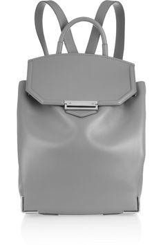 Alexander Wang Silver Lining Grey backpack.