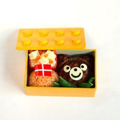 for kids. a cute bear! Japanese Lunch Box, Cute Bears, Cute Food, Kids, Gourmet, Young Children, Boys, Children, Kid