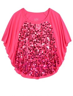 Justice Sequin Circle Top have it