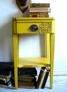Furniture, Painting Old Wood Furniture By Yourself : awesome way of painting old wood furniture