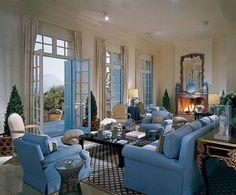 Billy Baldwin blue room
