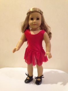 18 Doll Tap Outfit for American Girl Dolls by pleasantcompany01, $23.00