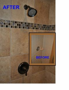 Before And After Images Of Bathroom Shower Remodels\ | Before And After  Photo Of Shower