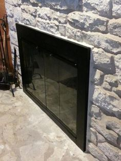 Normandy Fireplace Door | WoodlandDirect.com: Fireplace Glass ...