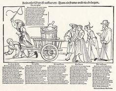 Artist: Schoen, Erhard, Title: Der Preis des frommen Weibes, Date: ca. 1533