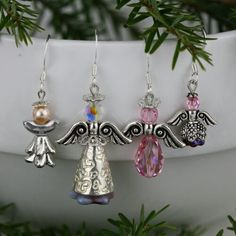 Whether you are looking for the perfect design for the holidays, a birthday or any other special occasion, these Swarovski angels will make everyone smile.